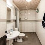Hattelmala yksiön kylpyhuone